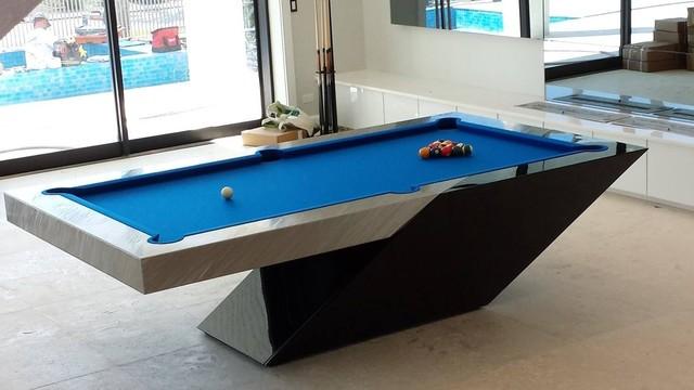 Billiard Room Blue Paint