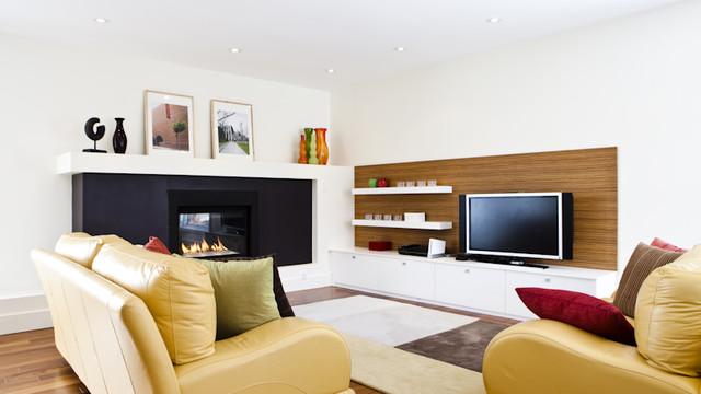 Modern Residence contemporary-family-room