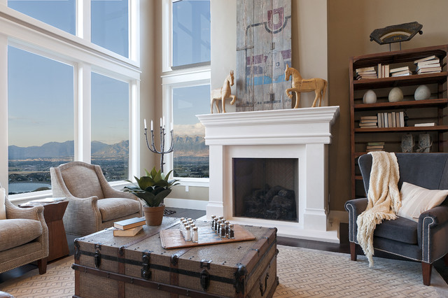 Modified Telluride by Candlelight Homes  family room