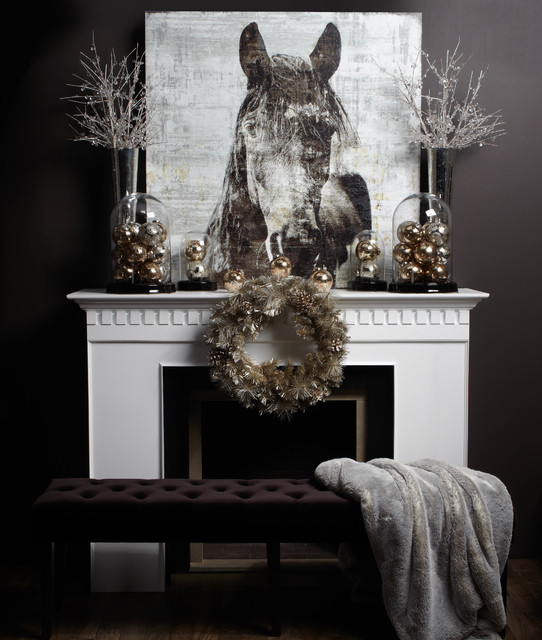 monochromatic mantel modern family room other metro by z