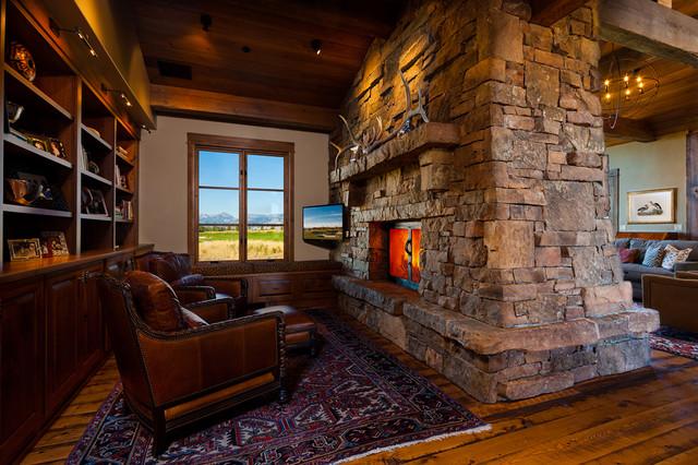 Montana Residence traditional-family-room
