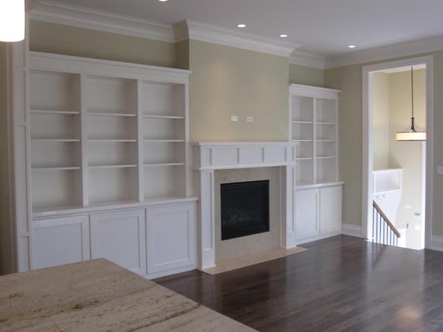 More built-ins! modern-family-room