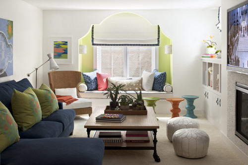 Moroccan Lounge eclectic family room