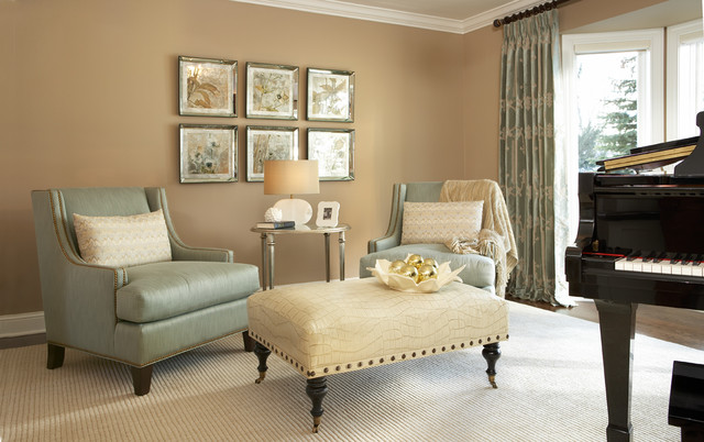 Mount Curve Road Residence Holiday Living Room 4 - Traditional ...