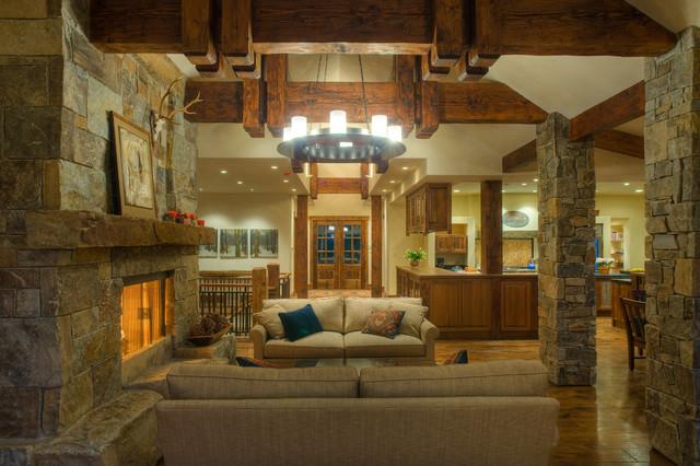 Rustikal wohnzimmer  Mountain Modern - Rustikal - Wohnzimmer - Seattle - von Bear ...