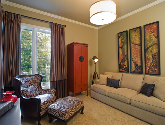 Multi purpose room eclectic family room other metro for Purpose of a living room