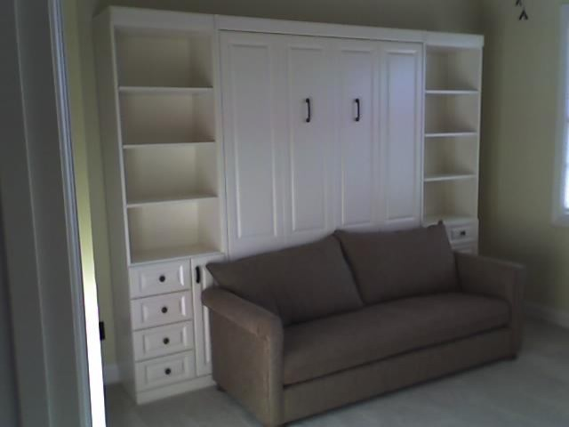Murphy Bed With Sofa Traditional Family Room Nashville By More Space Place Of Nashville