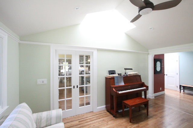 Music Room traditional-family-room