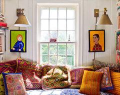 Eclectic Farm House farmhouse-family-room