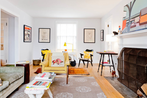 Exceptional Eclectic Family Room By Brooklyn Photographers Rikki Snyder Part 19