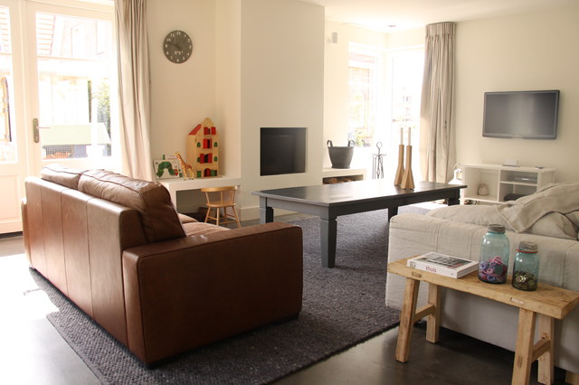 My Houzz: Contemporary Country Style In The Netherlands Modern Wohnzimmer