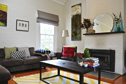 My Houzz: Eclectic Style and Color Rule Here
