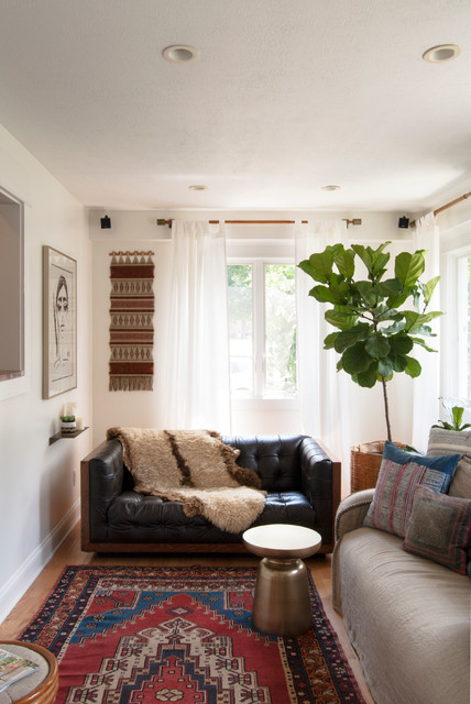 My Houzz: Garage Sale Meets Glam in Ohio eclectic-family-room