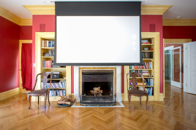 My Houzz: Pettigrew Farm Interior traditional-family-room