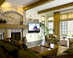 French Country traditional-family-room