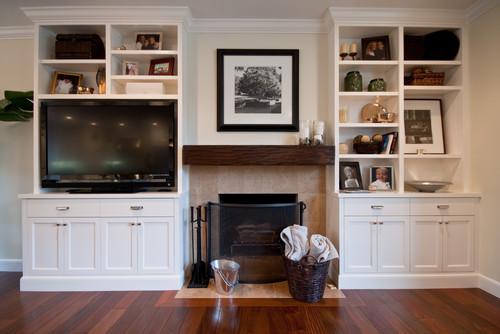 Fireplace Storage remodelando la casa: bedroom storage solutions