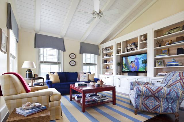 Nantucket Cliffs traditional-family-room