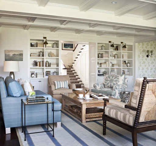 Nantucket In The Palisades Traditional Family Room