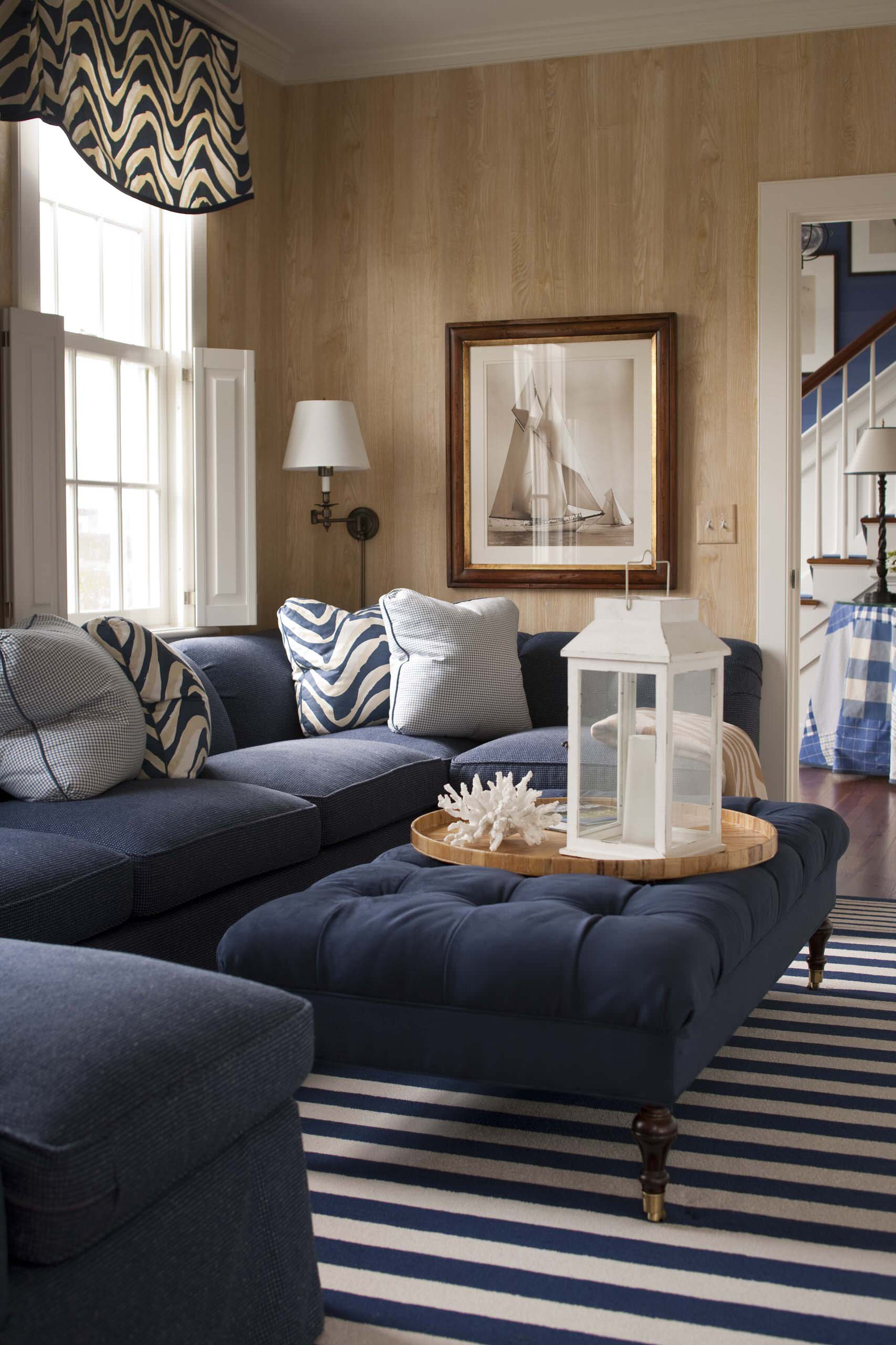 Blue Denim Couch Houzz