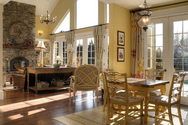 Neufeld Family Room eclectic-family-room