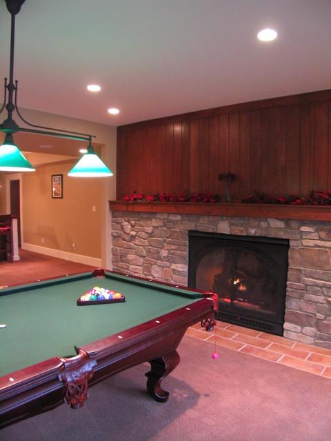 New American Farmhouse in Apex farmhouse-family-room