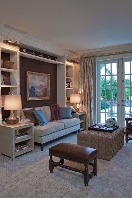 New American Traditional traditional-family-room