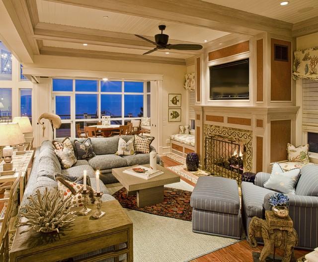 New Construction - Bethany Beach, Del. traditional-family-room