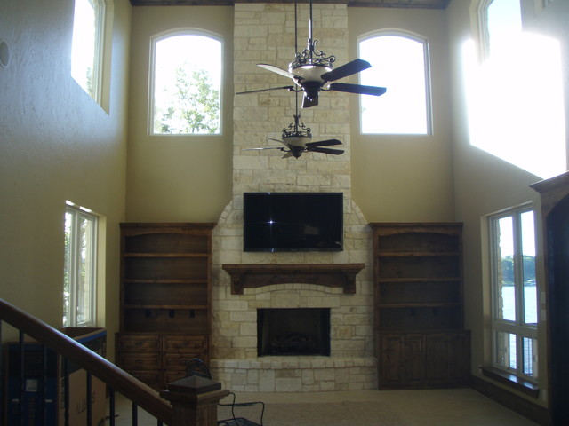 New Construction in Gun Barrel City traditional-family-room