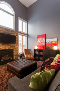 New home build decorating family room other by laura for Laura boisvert design