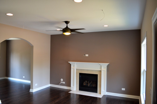 Love the wall colors what are they - Accent colors for beige living room ...