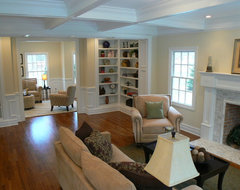 New Jersey Home Stager Family Room After traditional family room