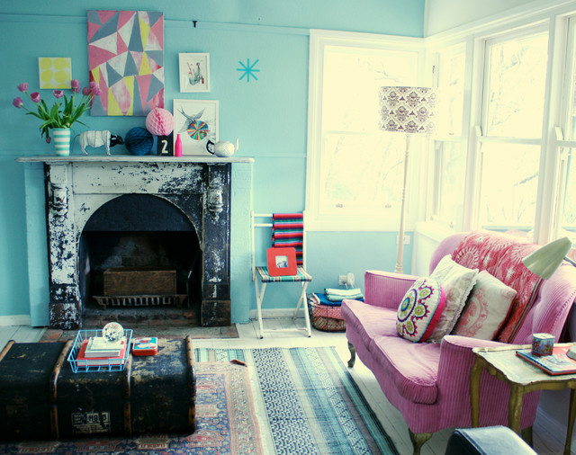 new look in my lounge room - Eclectic - Family Room - by