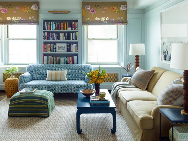 New York Apartment - Klassisch modern - Wohnzimmer - New York ...