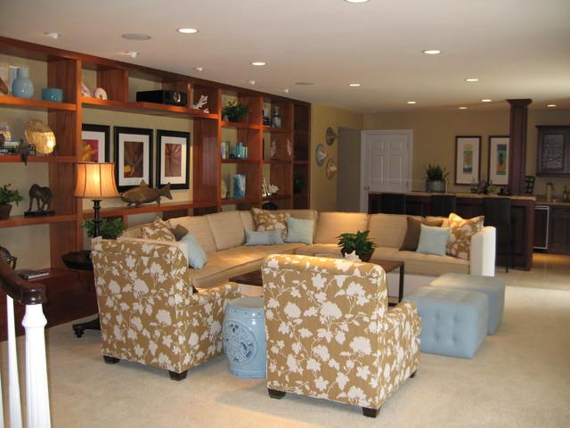 D for Design - Noela Game Room - Honolulu Hawaii tropical-family-room