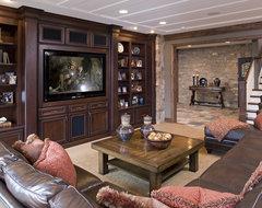 Lower Living Room traditional-living-room