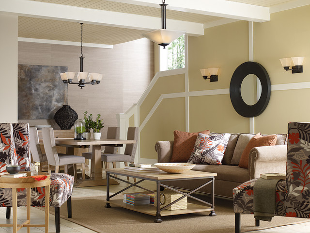 Light fixtures for family room