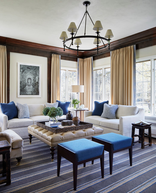 North shore family room transitional family room chicago by gemma parker design llc for The parkers tv show living room