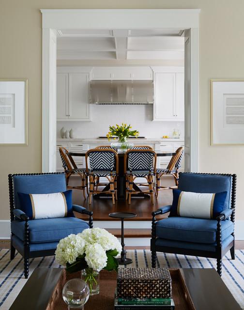 north shore residence klassisch modern wohnzimmer