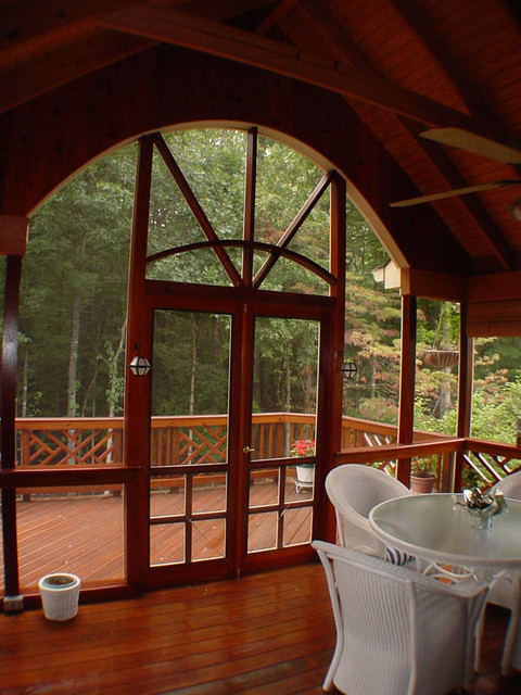 Northern Deckworks Porches,decks and patios traditional-family-room
