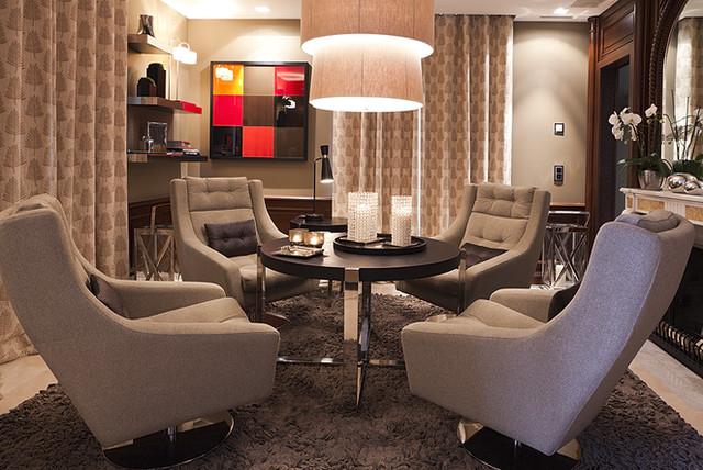 Obayda sa Architects& Interiors contemporary-family-room