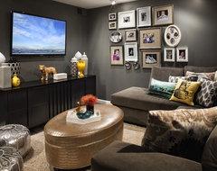 Oberbeck Residence modern-family-room