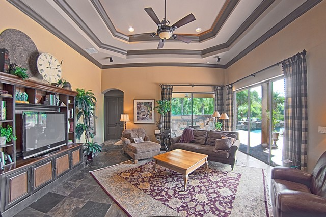 Odessa Florida Home traditional-family-room