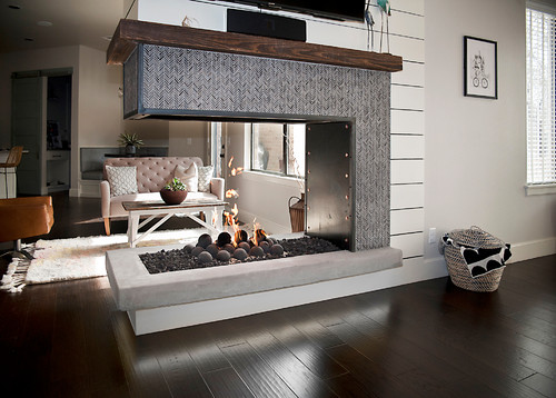 Top 50 Modern Fireplace Designs Ethanol Fireplace Pros