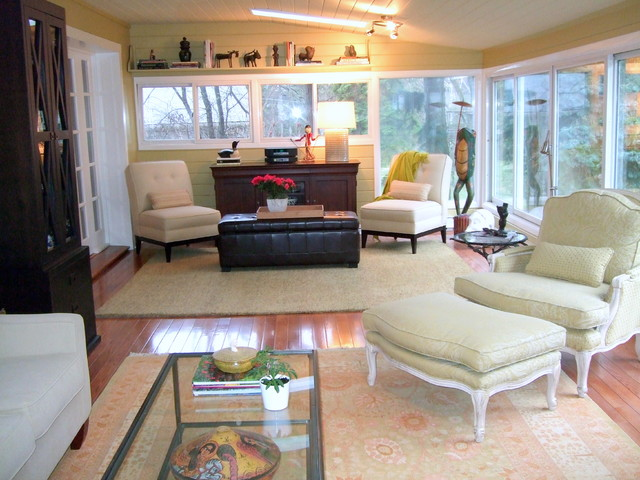 Old Richmond Hill residence - 2 eclectic-family-room