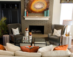 Olivias Family Room eclectic family room