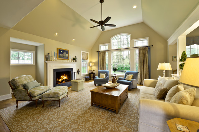 Open Light Filled Family Room traditional-family-room