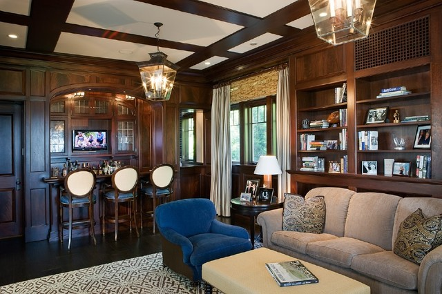 Osterville Residence traditional-family-room