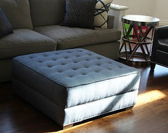 OTTOMAN STYLES - ANY SIZE ANY FABRIC transitional-family-room