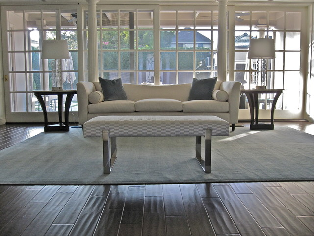 Our rugs in Decor contemporary-family-room