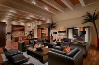 ownby design - kolonialstil - wohnzimmer - phoenix - von ownby design